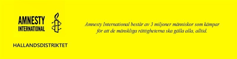 Amnesty International består av 3 Miljoner människor som kämpar för att de mänskliga rättigheterna skall gälla alla, alltid.